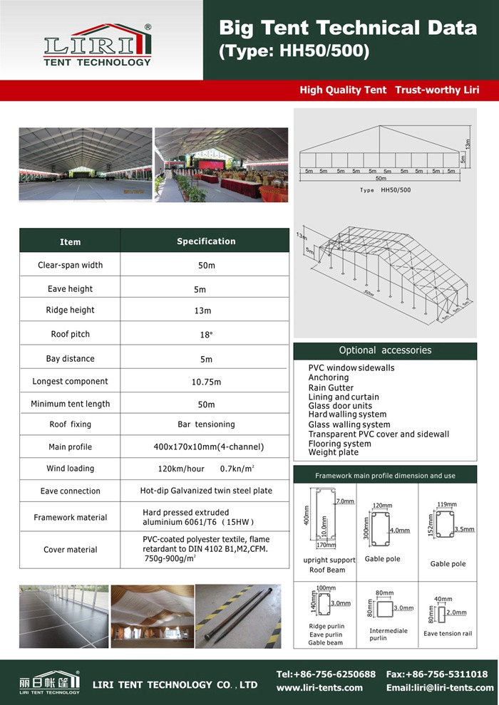 ClearSpan Fabric tents