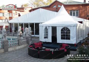 pagoda tent hotel
