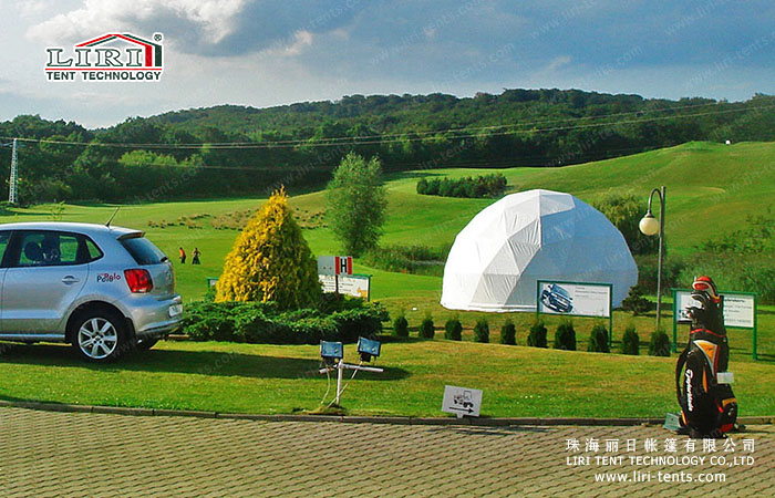 half sphere tent hotel
