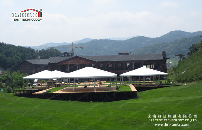 outdoor hotel tent