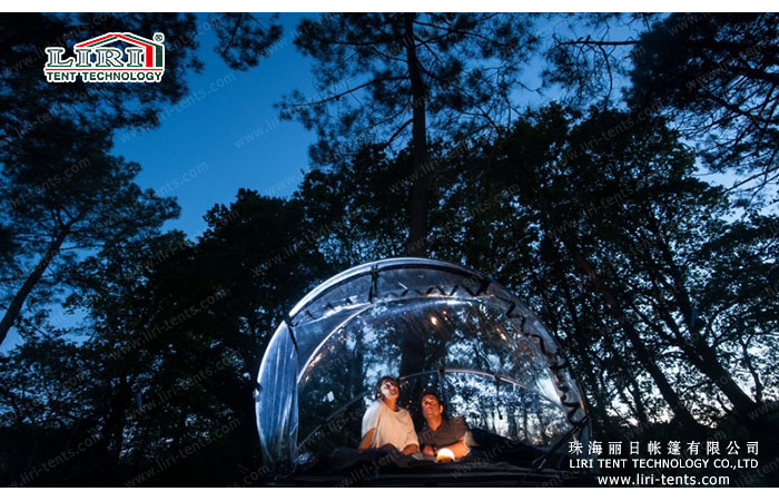 transparent tent for hotel
