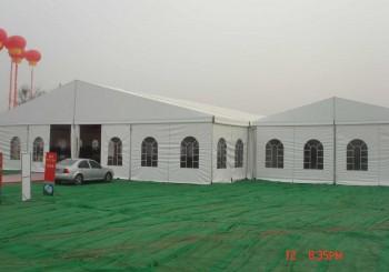 tent on the grassland