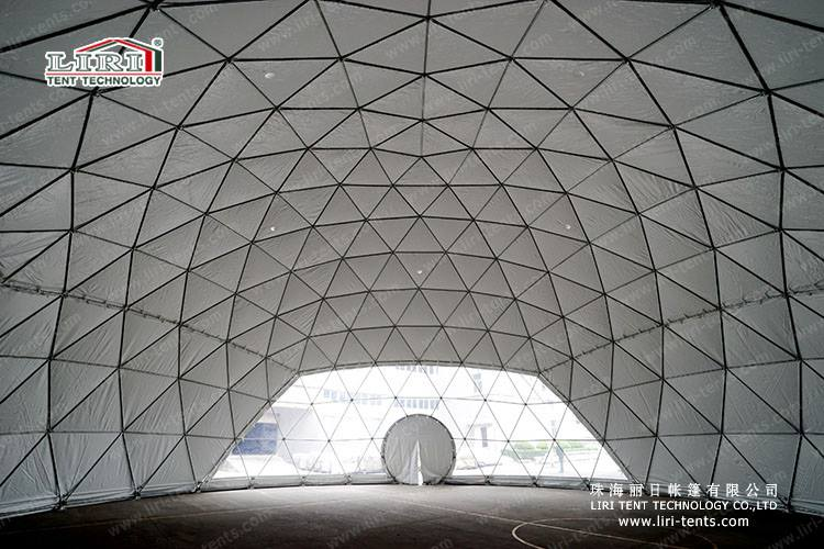 Geodesic dome tent 2