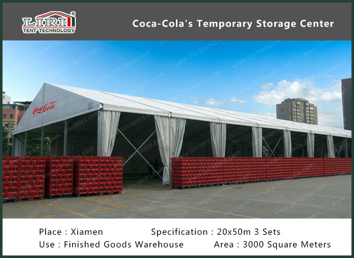 Coca-Cola's Temporary Storage Center