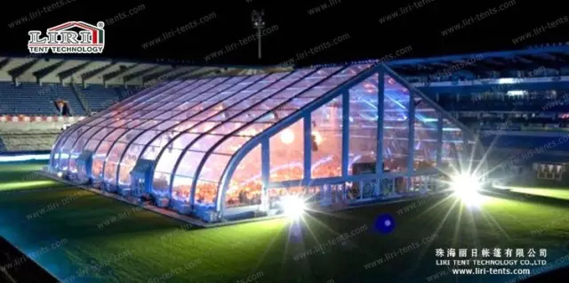 temporary sports structure