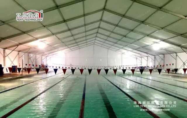 temporary tent for swimming