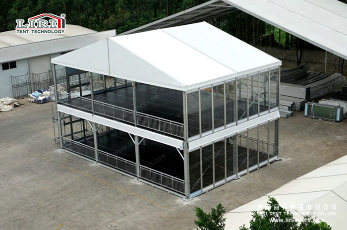 Double Decker Tent For Wedding