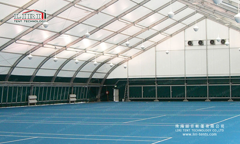temporary sports tent